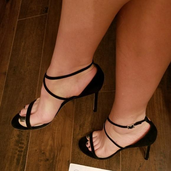 aba77f788b4 NWT Jimmy Choo HESPER black sandals heels 39.5 9.5
